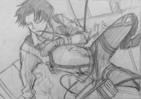 Levi(Attack on Titan) by Drawist101