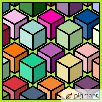 Colorful blocks by Animehreats