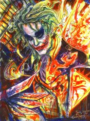 Joker Disorder by emilynguyenart