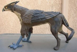 Gryphon Sculpture by gryphonworks