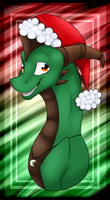 Raikan is Santa .:CO:. by Frostii-Dragons