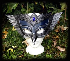 Blue Jay Leather Mask by Feral-Workshop