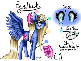 Featherlie OC [My OC] by Wika4007