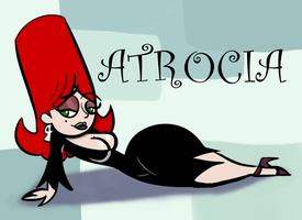 Obscure Characters: Atrocia by AKB-DrawsStuff