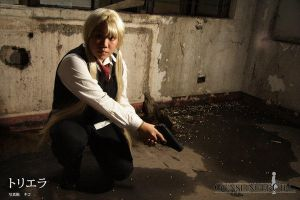 Gunslinger Girl: Triela IV by bloodyblue