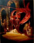 Smaug - from the Hobbit. by highlandheart1968
