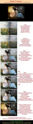 -TUTORIAL - The Sisters - by Doucesse