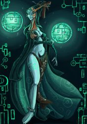 Midna and the sols by Evanatt