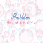 Brushes: Bubbles by cishkash