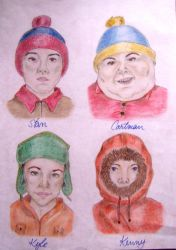 Tribute to South Park by MeTheObscure