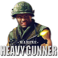 Marine Heavy Gunner Custom Icon by thedoctor45