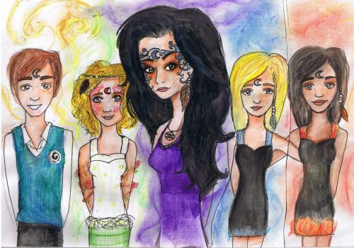 House of Night by Georgia-Lou-Erin