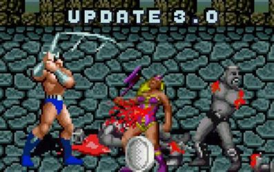 Golden Axe Genesis, new update (version 3.0) by SEEProduction