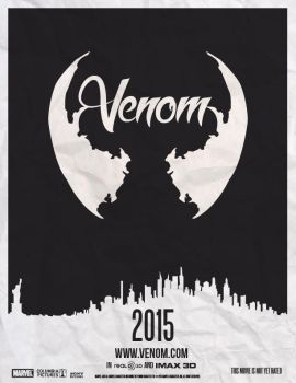 Venom Movie - Fan Poster by RyanRitterbusch
