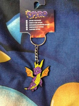 Spyro The Dragon Keyring by DazzyADeviant
