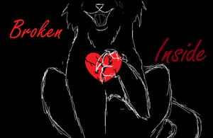 Broken Inside by AbyssinalPhantom
