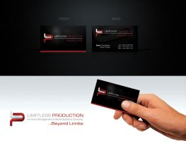 LIMITLESS PRODUCTION CARD 2 by muddassir