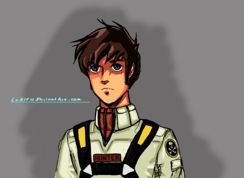 ROBOTECH: Rick Hunter by LeElf