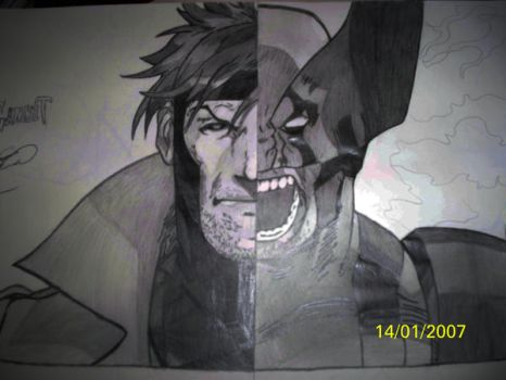 MvC1 Gambit and Wolverine by HaStyle-Music