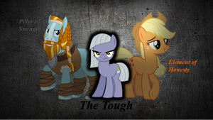Strength, Honesty, and Toughness by rainbine94
