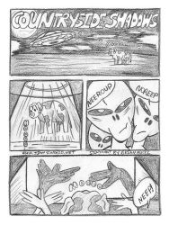 Countryside Shadows - A short Comic by jimmysworld