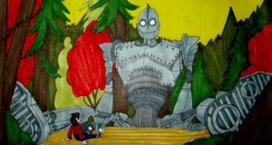 The Iron Giant by InkArtWriter
