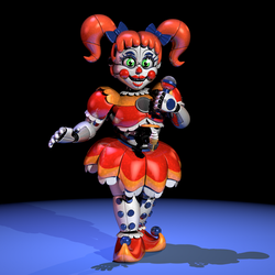 Stylized Circus Baby v3 by Morigandero