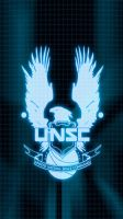 UNSC iPhone Wallpaper - iPhone 5 by EchoLeader