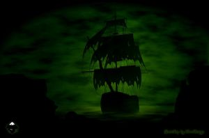 Inkscape-Ghostship by Chrisdesign
