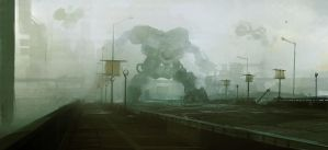 Fog mecha by leventep