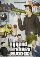 Grand Theft Auto III Poster by Llewxam888