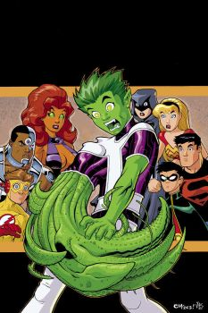 teen titans by EdMcGuinness