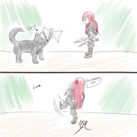 Kat And Doge by DarkDendra