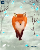 Red-fox-klehidart- by klehid