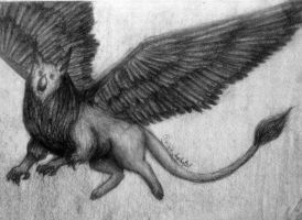 Another gryphon by IrinaAsphodel