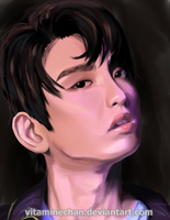 Study - Jinyoung by VitamineChan