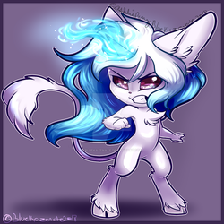 Chibi Com Aether Magic by BlueKazenate