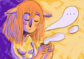 Doodle - Le lundi matin by LaurierTheFox