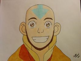 Aang's First Beard by TheGizzmo