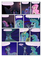 FiM TNtMD - Page 133: No Longer Afraid of the Dark by ArofaTamahn