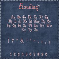 AcadianFont by lokabell