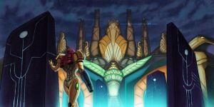 Metroid Prime by rice-claire