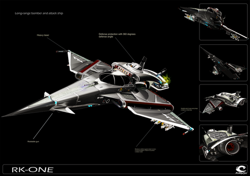RK-One - Attak Ship by MASCH-ARTDesign