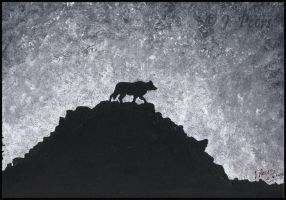 Lone Wolf by JenTheThirdGal