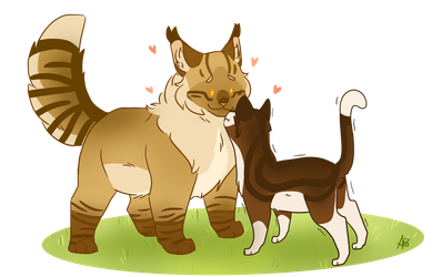 Smol And Tol by ArticPawprint