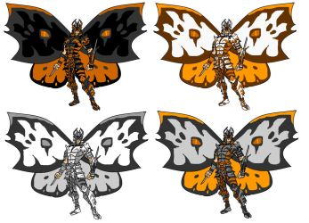 Tiger Moth - recolors by gatchagrey