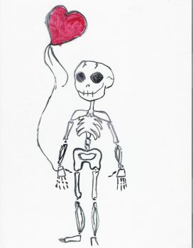 Skeleton's can love by Nukuyasha
