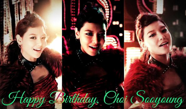 [EDIT] #Happy25thSooyoungDay by imawesomeee03
