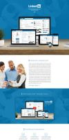 LinkedIn Redesign by wellgraphic