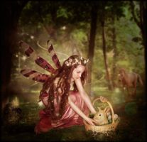 Easter Time Fairy by brandrificus